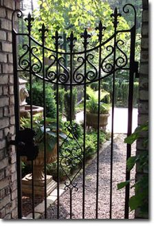 Raleigh Wrought Iron and Fence Co. Custom Wrought Iron Gates in Raleigh NC, Durham, Chapel Hill