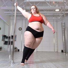 How This Woman Lost Over 60 Pounds and Gained Confidence by Pole Dancing: In the wake of a crippling eating disorder in her teens and early 20s, 25-year-old Eda Marbury got married and found happiness — but when binge-eating junk food led her to reach a peak weight of 330 pounds, the Saint Louis, MO, woman decided to make a change.