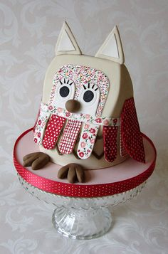 Owl Cake | Flickr - Photo Sharing!