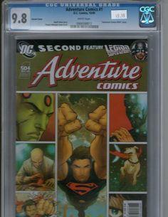 Adventure Comics 1 504 CGC 9.8