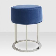 Luna Stool In Navy