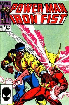 Power Man And Iron Fist 120 Marvel 1985 VF NM Luke Cage Doctor DruidCondition Very Fine ~ Near Mint Shipping Shipped in a box, sandwiched between rigid cardboa Marvel Comics, Marvel Comic Books, Comic Book Characters, Comic Book Heroes, Marvel Characters, Comic Character, Iron Fist Marvel, Iron Fist Comic, Luke Cage Iron Fist