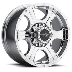Vision Off Road 396 Assassin 8 Chrome