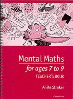 USED (GD) Mental Maths for Ages 7 to 9 Teacher's book by Anita Straker