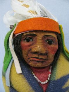 """10"""" Chief by Mary Frances Woods - PC"""