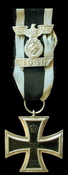 1939 clasp to the 1914 Iron Cross 2nd Class