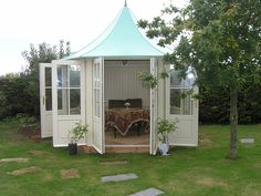 Victorian Summerhouse...I should build one in my backyard for my art and reading time.