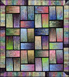 Stepping Stones ~ Quiltworx.com, made by CI Gretchen Verteran