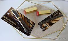 Max Factor mascara, lipsticks, and eyeliner