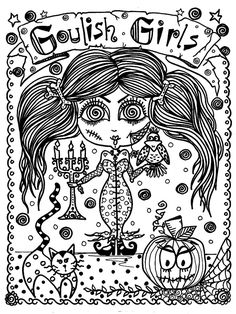 5 Books Halloween Coloring Pack Save Money And Door ChubbyMermaid