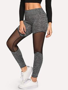 f3d262bd5ee7f5 To find out about the Mesh Panel Leggings at SHEIN, part of our latest  Leggings ready to shop online today!