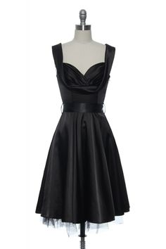 Satin Scene Stealer Dress http://www.laceaffair.com/satin-scene-stealer-dress/