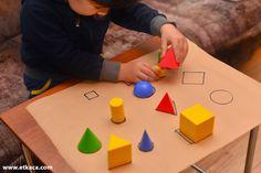 'Umut' olsun!: Geometrik Şekillerle Oyunlar