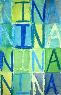 Jasper Johns Names - primary/secondary colors