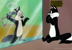 Pepé Le Pew. Were these characters energetic or just trippy? We bet you didn't notice these references