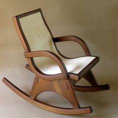 Mecedora con brazos :: Mueble de sala :: formasdeluz.com