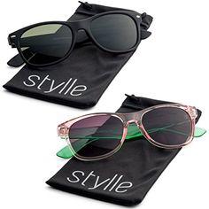 Stylle Vintage Wayfarer Sunglasses