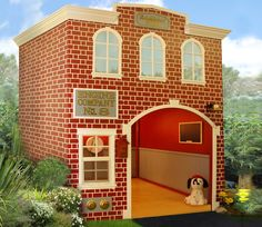 Features: Brick Siding, Custom Signage, Call Box, Fire Bell, Hose & Reel, Hydrant Options: Kid's Play Furniture Theming Escape Tunnel Fire Pole Coats & Hats Activity Panels Wainscoting Customize your Playhouse: You can customize any Main Street playhouse to fit your specific needs. You can adjust the sizes, colors, features, themes, etc. Please consult a …