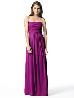 Dessy Collection Style 2845 http://www.dessy.com/dresses/bridesmaid/2845/ Color: Persian Plum