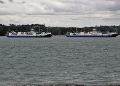 Torpoint Ferry, Plymouth, Devon