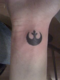 Star Wars rebel alliance tattoo. Brother and sister get matching set.