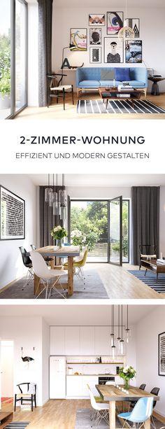 Kleine Wohnung Effizient Einrichten! In Der Großstadt Wird Der Wohnraum Vor  Allem In Zentralen Lagen