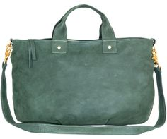 Clare Vivier Bottle Green Messenger