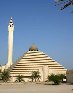 The Bee Mosque   Kuwait is one of the richest country in the World. Its excellent Mosques and lifestyle is a proof of that..