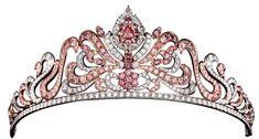 Linneys pink diamond tiara.