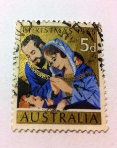 Australian stamp Christmas 1965 5d $1.00