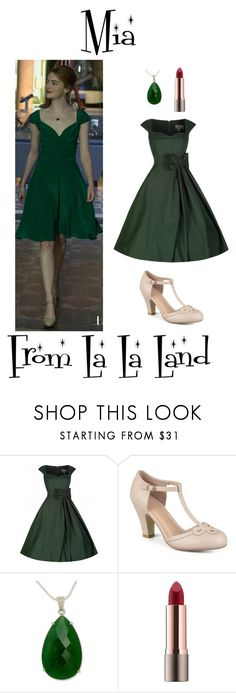 """""""Mia from La La Land"""" by madelinem-2002 on Polyvore featuring Journee Collection, NOVICA and vintage"""