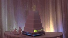 Disney's Fairy Tale Weddings combined magic and technology to make a truly enchanted cake.