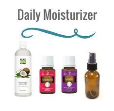 Essential Oils Daily Moisturizer
