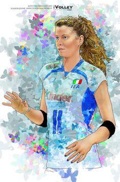 La principessa del volley azzurro @Chiri_Cristy Cristina Chirichella foto @ric_giuliani elaborazione @CarlottaRossi11