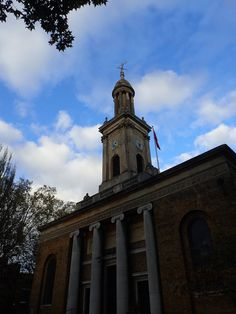 2nd December I shall be leading a walk around Walworth, ending at the artists' open studios in Pullens Yards. This church was designed by architect sir John Soane