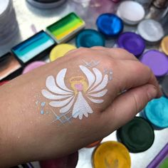 Tattoo arm girl ideas face paintings 67 ideas - Famous Last Words Face Painting Images, Face Painting Designs, Face Paintings, Tattoo Girls, Tattoos For Guys, Lion Flower, Christmas Face Painting, Face And Body, Face Face