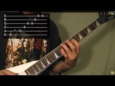 ▶ Guitar Lesson: The Diminished Scale (WITH TABS) - YouTube