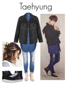 """""""Taehyung Epilogue Standee"""" by k-lookbooks ❤ liked on Polyvore featuring Mavi, Ally Fashion, Alexander Wang and Vans"""