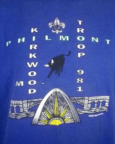 vtg 80s 90s retro 1994 Boy Scouts Philmont Ranch T-Shirt troop 981 indie SZ XL