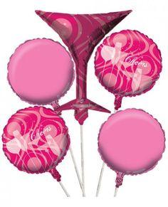 Fabulous Birthday Balloon Cluster Set Of 5