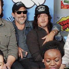 Negan!  Keep your hands off Daryl....he's Rick's man!                                                    …