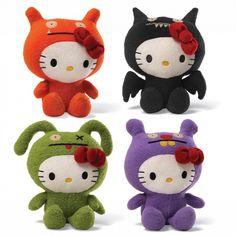 Hello Kitty x Ugly Doll