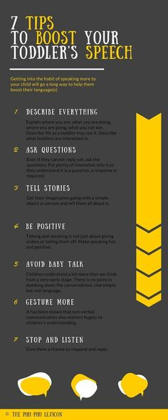 Simple ways to boost your toddler's speech skills. Love these ideas for parents to encourage language development with kids!