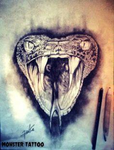 Serpiente. DISEÑO DISPONIBLE PARA TATUAR