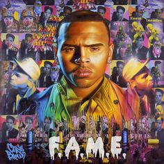 Chris Brown - Graffiti inspired album cover
