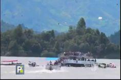 Barco Se Hunde Con Más De 150 Pasajeros En Colombia