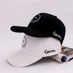 860da0ec4c5 Men Women Smiling Face Adjustable Snapback Baseball Cap Hip Hop Hat is hot  sale on Newchic.