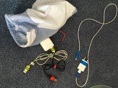 Voyageurs connectés: gestion des câbles