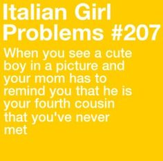 When I was my cousin came back to visit us from Moscow.we were both just kids and first met each other, omg, he was sooo good looking, I really wanted to talk to him. Girl Problems Funny, Women Problems, Italian Side, Italian Girls, Italian Girl Problems, Italian Memes, Don't Like Me, Learning Italian, Cool Writing