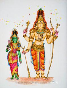 Manivelu A. | Forms of Devotion Shiva Art, Krishna Art, Hindu Art, Indian Traditional Paintings, Indian Art Paintings, Lord Ganesha Paintings, Lord Shiva Painting, Shiva Parvati Images, Shiva Shakti